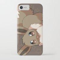 eevee iPhone & iPod Cases featuring Eevee by Mirikun