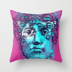 SEER Throw Pillow