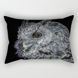 Dark Owl Rectangular Pillow