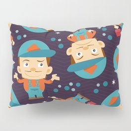 Plumber Pattern Pillow Sham