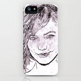 Karlie Koss iPhone Case