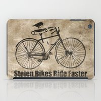 bikes iPad Cases featuring stolen bikes... by Seamless