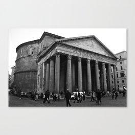 the pantheon b&w Canvas Print
