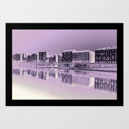 Turin reflected Art Print