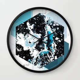 Geometric Textures 4 Wall Clock