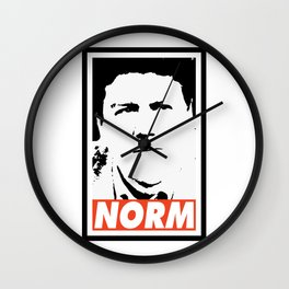 NORM Wall Clock