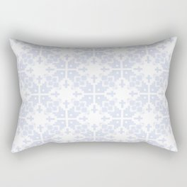 Pale blue gray no.21 Rectangular Pillow