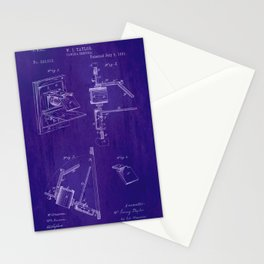 Camera Obscura Patent Stationery Cards