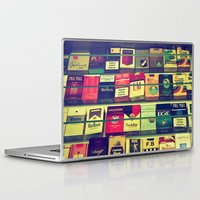 cigarette Laptop & iPad Skins featuring cigarette collection by gzm_guvenc