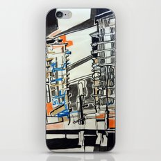 London From A Train iPhone & iPod Skin
