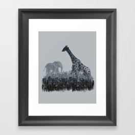 The Tall Grass Framed Art Print