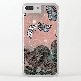 Night Garden (2) Clear iPhone Case
