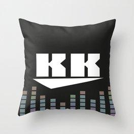 DJ KK v2 Throw Pillow