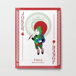 Tingle - Hylian Court Legend of Zelda Metal Print