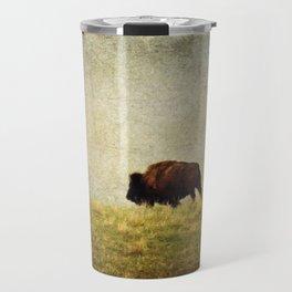 Lone Buffalo Travel Mug