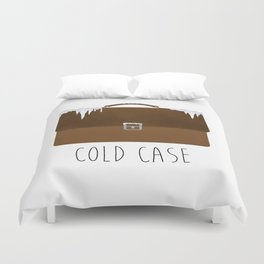 Cold Case Duvet Cover