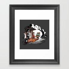 Halloween Decoy Framed Art Print