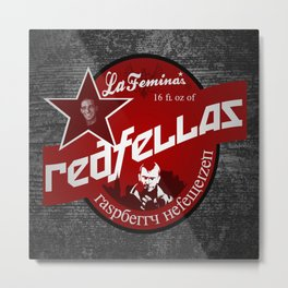 Redfellas Metal Print