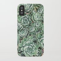 Succulent Bed Slim Case iPhone X