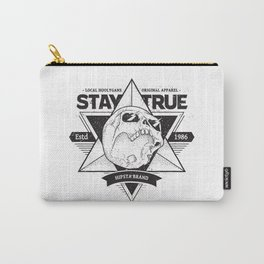 Stay True Skull #1 Carry-All Pouch