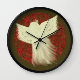 Holiday Angel Wall Clock