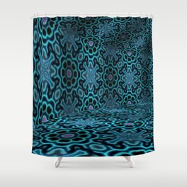 Iconic Hollows 1 Shower Curtain