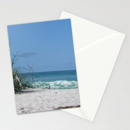 Beach scene at Manasota Key Florida Stationery Cards