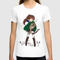 snk T-shirts featuring Sasha Braus by Sir-Snellby