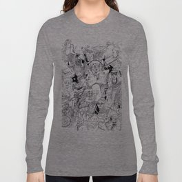 Massive Head-Ache Long Sleeve T-shirt