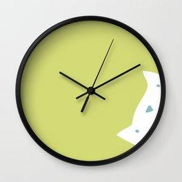 Peek-a-mew Wall Clock