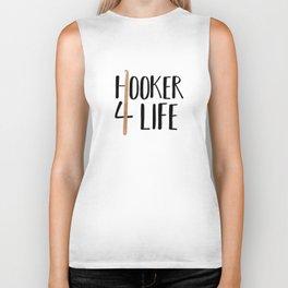 (Crochet) Hooker 4 Life Biker Tank