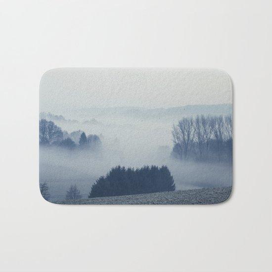 White Cover Bath Mat