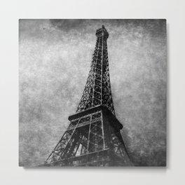 Eiffel Tower V120 1954 Metal Print