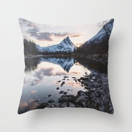 Northern Spring - Landscape and Nature Photography Throw Pillow