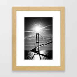 Beat The Sun Framed Art Print