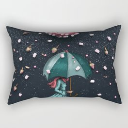 Sweet Rain Rectangular Pillow