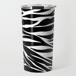 Zebra Pattern Travel Mug