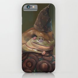 Curiously Magic Frog  iPhone Case