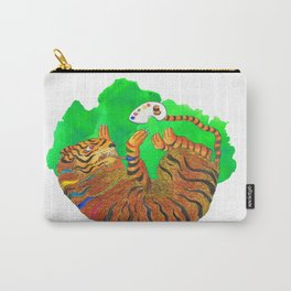 Artist Tiger Carry-All Pouch