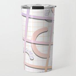 Kamikaze - Doodling Pattern 009 Travel Mug