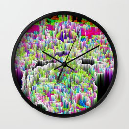 Serpentine Chatter Wall Clock