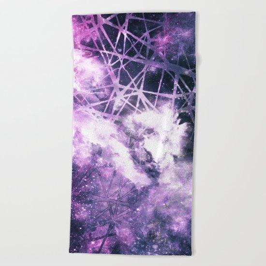 ε Purple Aquarii Beach Towel