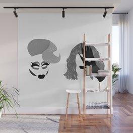 Trixie and Katya Wall Mural