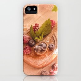 Fresh wild Bernies  Fruits Still life iPhone Case