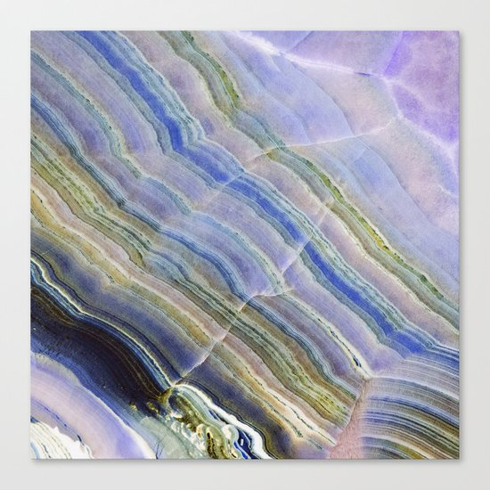 Pastel Onyx Marble II Canvas Print