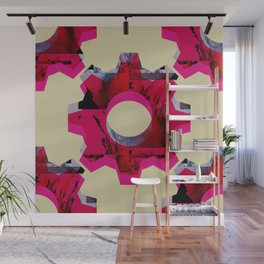 IMPROBABLE GREASE REEL Wall Mural