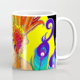 Fiery Rainbow Seraph Angel Coffee Mug