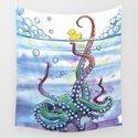 Bath Time Octopus by samnagel