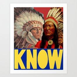 KNOW '16 Art Print