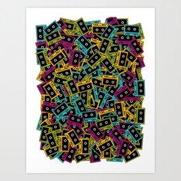 Cassette culture Art Print